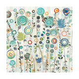 Ocean Garden I Square Premium Giclee Print by Candra Boggs