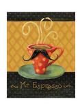 Cafe Moustache III Premium-giclée-vedos tekijänä Lisa Audit