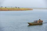 Hooghly River, Part of the Ganges River, West Bengal, India, Asia Impressão fotográfica por Bruno Morandi