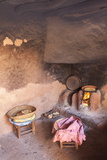 The Kitchen of a Traditional Berber Home in the Ourika Valley, Morocco, North Africa, Africa Photographic Print by Charlie Harding