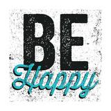 Be Happy Giclée-Premiumdruck von Michael Mullan