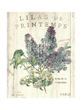 Lilas de Printemps Premium Giclee Print by Sue Schlabach