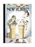 The New Yorker Cover - October 11, 2004 Reproduction procédé giclée par Barry Blitt