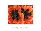Oriental Poppies (Med) Plakater af Georgia O'Keeffe