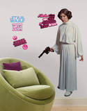 Star Wars Classic Leia Peel & Stick Giant Wall Decal Veggoverføringsbilde