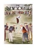 The New Yorker Cover - August 5, 1939 Reproduction giclée Premium par Constantin Alajalov