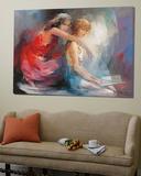 Two Girlfriends II Posters av Willem Haenraets