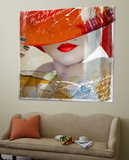 Glamourous V Print by Hans Jochem