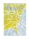 The New Yorker Cover - August 13, 1973 Premium Giclee Print by James Stevenson
