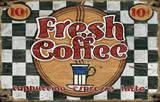 Fresh Coffee Vintage Wood Sign Wood Sign