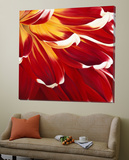 Colourful Floral I Art by Yvonne Poelstra-Holzaus