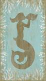 Mermaid Wood Sign Wood Sign
