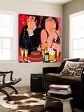 Live, Life, Love Posters av El Van Leersum