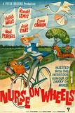 Nurse on Wheels Plakater