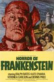 Horror of Frankenstein Plakater