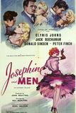 Josephine and Men Prints