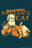 Pavlov's Cat Snorg Tees Poster Poster por  Snorg