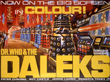 Dr Who and the Daleks Plakater