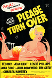 Please Turn Over Posters