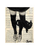 This be Cat Poster by Loui Jover
