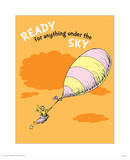 Ready for Anything (orange) Arte por Theodor (Dr. Seuss) Geisel