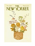 The New Yorker Cover - May 10, 1969 Premium Giclee Print by James Stevenson
