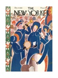 The New Yorker Cover - December 14, 1929 Premium Giclee Print by Theodore G. Haupt
