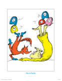 Seuss Treasures Collection II - Fox in Socks (white) Prints by Theodor (Dr. Seuss) Geisel