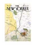The New Yorker Cover - May 31, 1969 Premium Giclee Print by James Stevenson