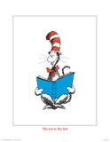 Seuss Treasures Collection III - The Cat in the Hat (white) Posters por Theodor (Dr. Seuss) Geisel