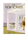 The New Yorker Cover - August 31, 1968 Premium Giclee Print by James Stevenson