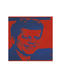 Flash-November 22, 1963, 1968 (red & blue) Posters by Andy Warhol