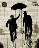 The Umbrella Pôsters por Loui Jover