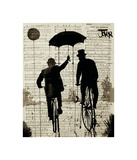 The Umbrella Giclee Print by Loui Jover