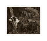 Cowboy's Friend Giclee Print by Barry Hart