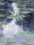 Pond with Water Lilies Reproduction procédé giclée par Claude Monet