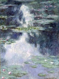 Pond with Water Lilies Impressão giclée por Claude Monet