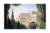 Architect's Dream Giclée-tryk af Thomas Cole