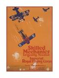 Skilled Mechanics Urgently Needed Giclee Print