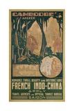Cambodge Angkor Poster Giclée-Druck von Jos Henri Ponchin