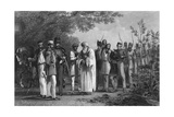 Capture of the King of Delhi Giclee Print