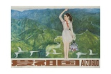 Love the Motherland, Ca 1970 Chinese Cultural Revolution Gicléedruk