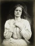 The May Queen Lámina fotográfica por Julia Margaret Cameron
