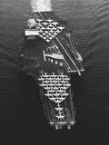 USS Enterprise in the Mediterranean Sea Photographic Print