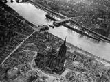 Bomb Damaged Frankfurt, 1945 Photographic Print