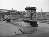 Chain Bridge in Budapest Photographic Print