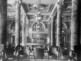 Lobby of New Willard Hotel in Washington, Dc Valokuvavedos