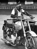 Motorcycle Chimp Fotografie-Druck