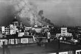 London During Blitz, September 1940 Lámina fotográfica