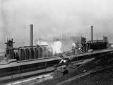 Jones and Laughlin Steel Plant, Pittsburgh, Pennsylvania Photographic Print